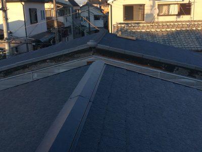 摂津市 屋根葺き替え工事